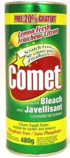 Comet® Cleanser  Lemon  20% More / Bonus Size  480 g