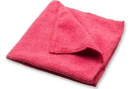 Microfiber Cloths  Red  Singles For Small Jobs