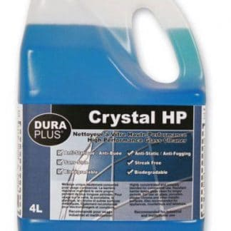 Glass Cleaner - Commercial Grade  4 L (DuraPlus Crystal HP)